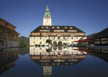 Schloss Elmau, Bayern, Deutschland