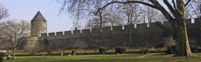 Stadtmauer, Köln, Nordrhein-Westfalen, Deutschland