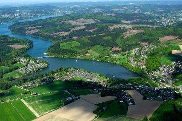 Sorpesee, Sauerland, Nordrhein-Westfalen, Deutschland
