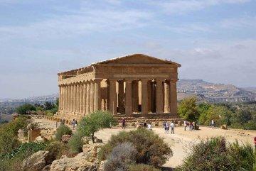 Sizilien - Konkordiatempel bei Agrigent