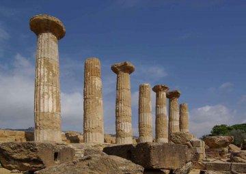 Sizilien - Heraklestempel bei Agrigent