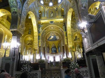 Capella Palatina,Palermo, Sizilien, Italien