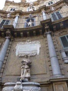 Sizilien - Palermo - Quatro Canti
