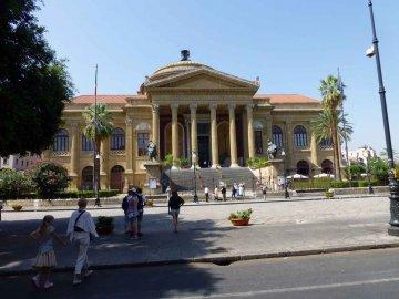 Theatro Massimo, Palermo, Sizilien