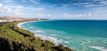 Strand Eraclea bei Agrigent, Sizilien