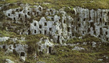 Nekropole von Pantalica, Sizilien