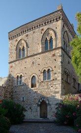 Palazzo-Duchi-di-Santo-Stefano, Taormina, Sizilien