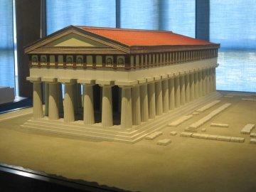 Tempel des Apollon - Modell, Syrakus, Sizilien