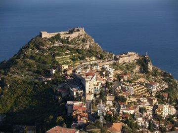 Kastell, Taormina, Sizilien