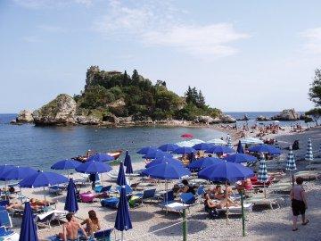 Isola Bella bei Mazzaro, Sizilien