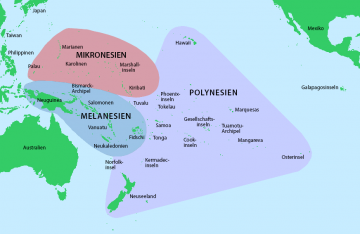 Map Polynesien