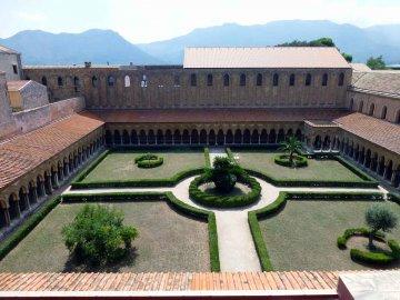Kreuzgang, Dom von Monreale, Sizilien