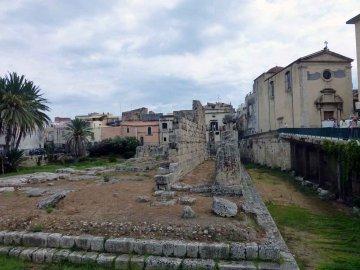 Tempel des Apollon, Syrakus, Sizilien