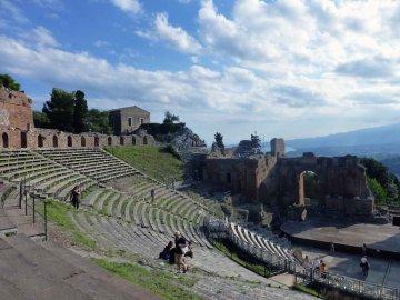 Römisches Theater, Taormina, Sizilien