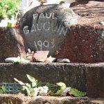 Grab von Paul Gauguin auf Hiva Ova