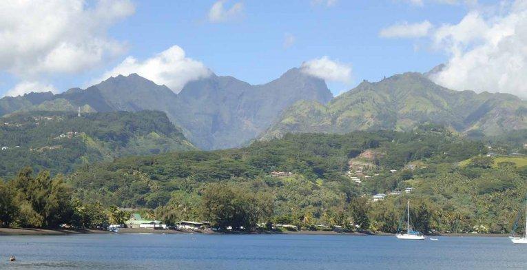 Matavai Bucht auf Tahiti