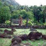 Marae auf Tahiti