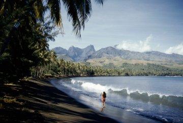 Tahiti Matavai-Bucht