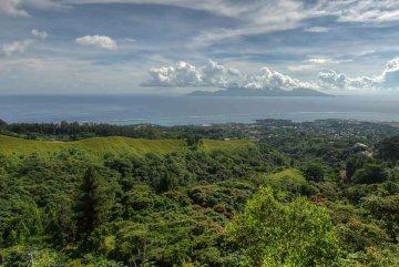 Tahiti mit Blick auf Moorea