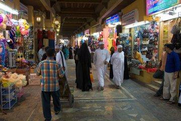 Souqu in Muttrah - Oman