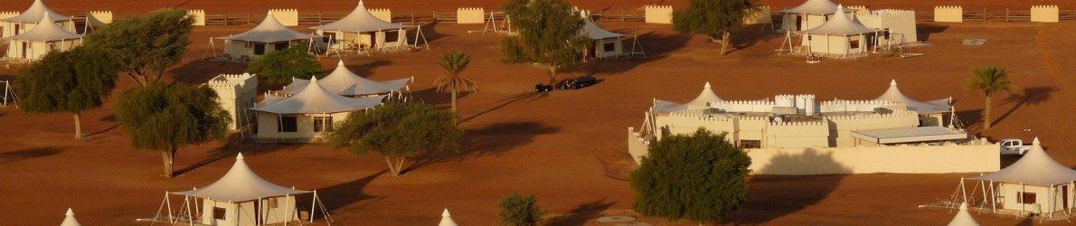 Camp im Oman