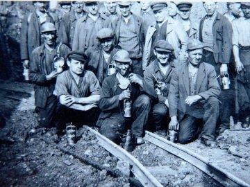 Bergleute - Grubenarbeiter im Pott - Nordrhein-Westfalen