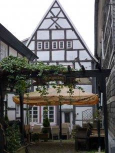 Hattingen - Fachwerkhaus Fassade