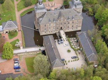 Luftaufnahme - Schloss Hugenpoet - Essen