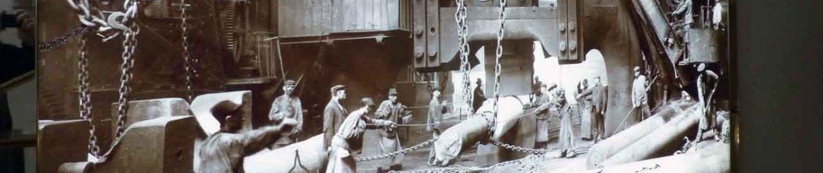 Fotos aus Stahlwerk Krupp