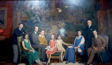 Familienportrait Krupp - Villa Hügel - Essen