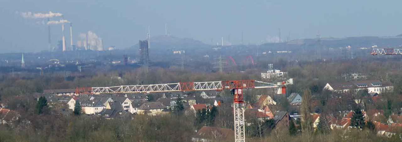 Umgebung - Zeche Zollverein - Essen - NRW