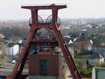 Förderturm - Zeche Zollverein - Essen - NRW