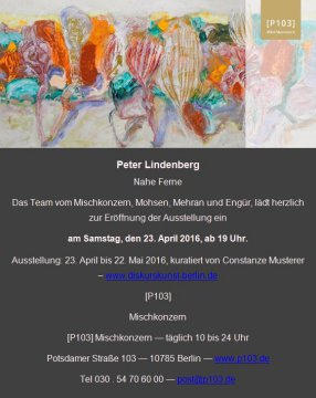 Peter Lindenberg - Mischkonzern