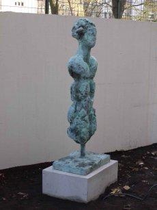 Armin Baumgarten - Halbigur, Bronze