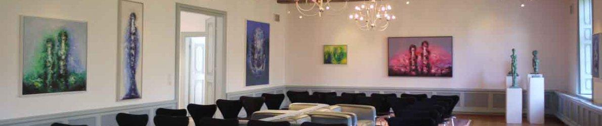 Armin Baumgarten - Ausstellung Burg Kniphausen
