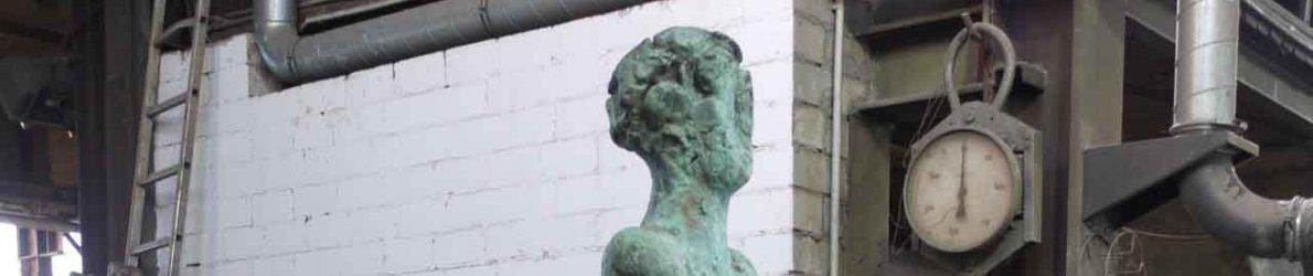 Armin Baumgarten - Figur, Bronze