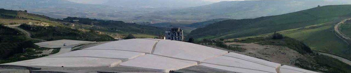 Grande Cretto, Alberto Burri, Sizilien, Italien