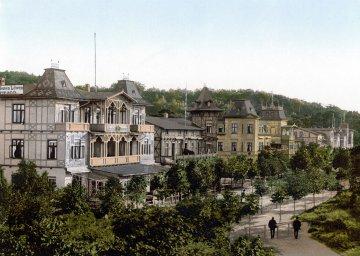 Binz, Wilhelmstrße - Rügen - Mecklenburg-Vorpommern