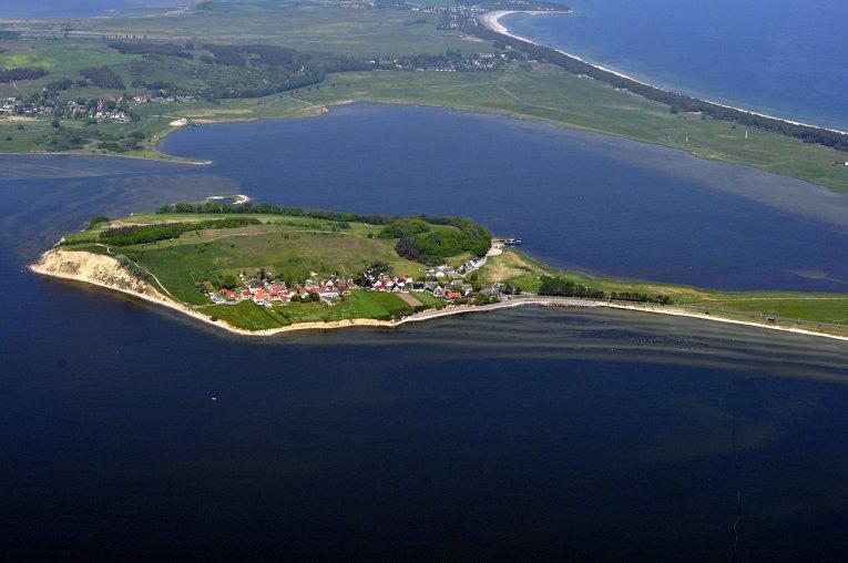 Luftaufnahme Thiessow - Rügen - Mecklenburg-Vorpommern