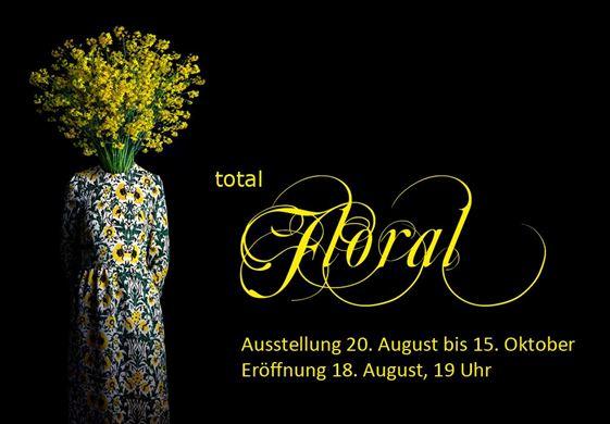Peter Lindenberg - Ausstellung - Total floral