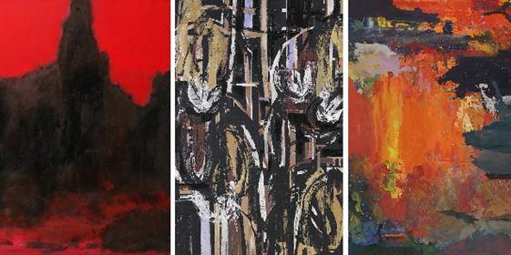 Peter Lindenberg - Ausstellung - The Inner Mountain Flame