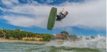 Kite Surfen in Thiessow - Rügen