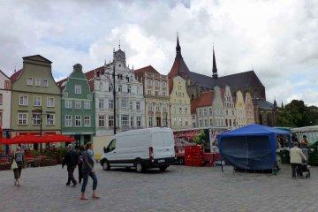 Marktplatz - Rostock - Mecklenburg-Vorpommern