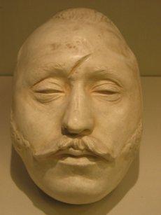 Ferdinand von Schill Totenmaske