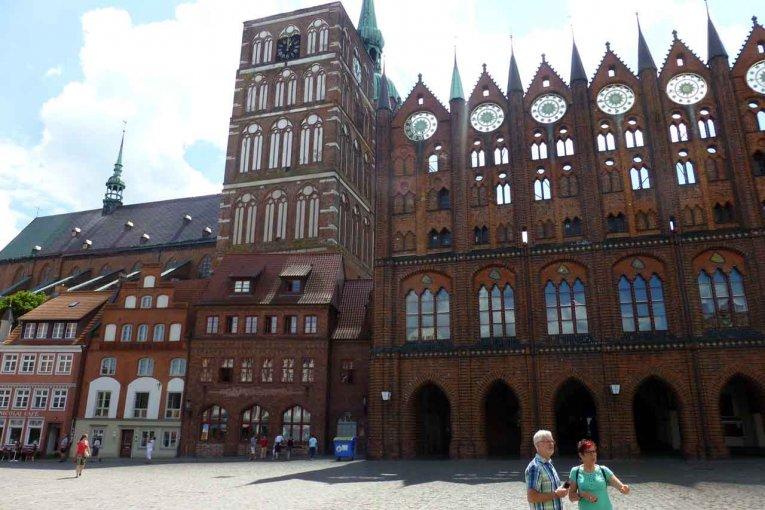Rathaus - Stralsund - Mecklenburg-Vorpommern
