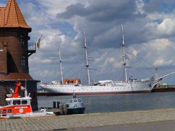 Gorch Fock - Hafen - Stralsund - Mecklenburg-Vorpommern