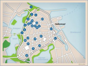 Map - Stralsund - Mecklenburg-Vorpommern