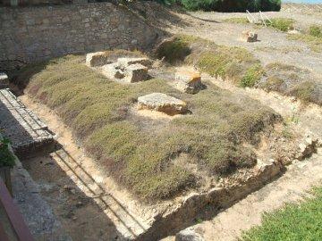 Athene Tempel - Kamarina - Sizilien