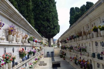 Friedhof in Modica - Sizilien