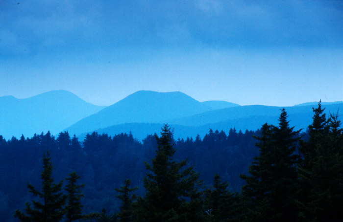 Blue Ridge Mountains - South Carolina - USA